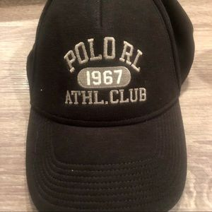 NWT Black Ralph Lauren Hat